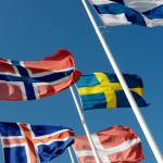 """De nordiska flaggorna"" by Johannes Jansson/norden.org. Licensed under CC BY 2.5"
